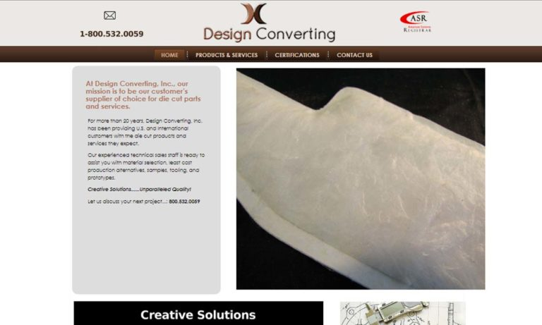 Design Converting, Inc.