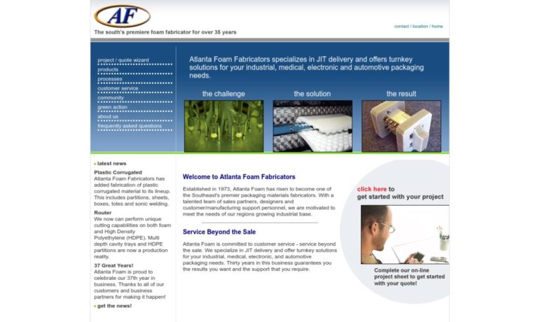 Atlanta Foam Fabricators