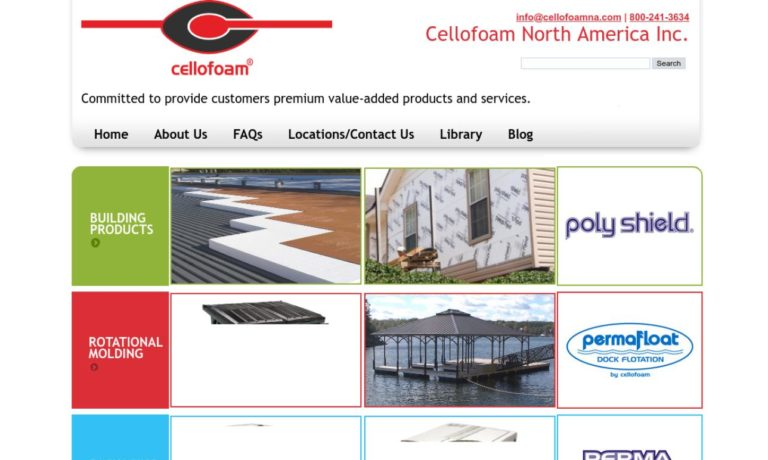 Cellofoam North America Inc.