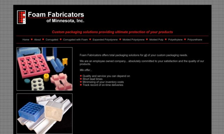 Foam Fabricators of Minnesota, Inc.
