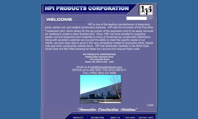 HPI Products Corporation