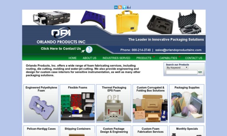 Orlando Products, Inc.