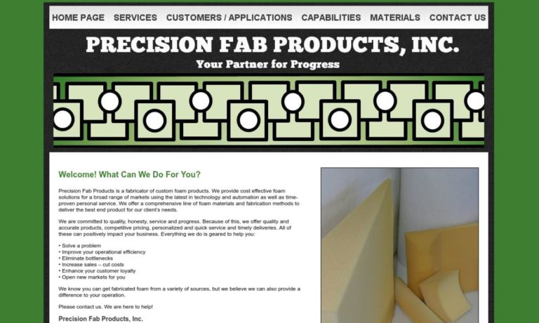 Precision Fab Products, Inc.
