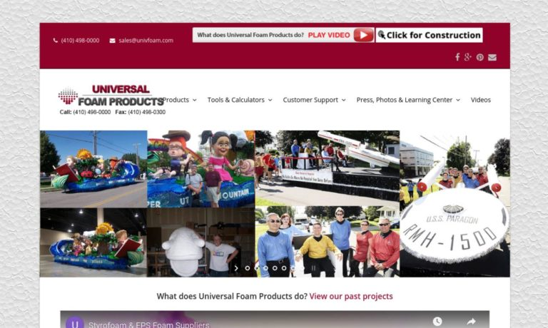 Universal Foam Products