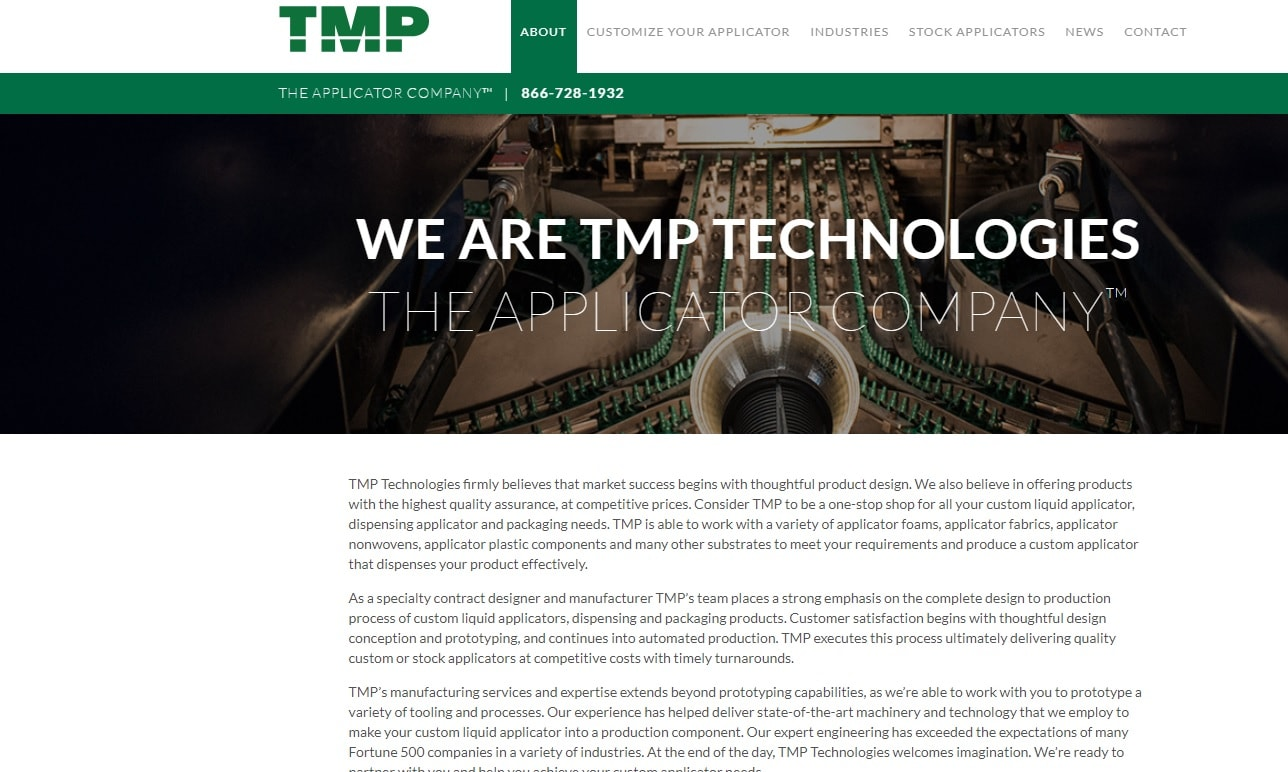 TMP Technologies, Inc.